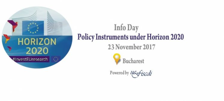 Info Day on Policy Instruments under Horizon 2020